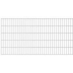 Panel ogrodzeniowy 2008x1230 mm, srebrny