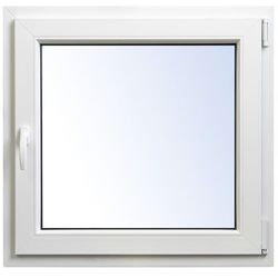 Okno PCV rozwierno-uchylne 565 x 535 mm prawe