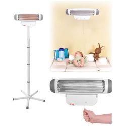 Grzejnik dla niemowląt ze stojakiem FeelWell REER - szary ||biały