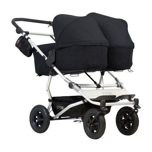 Wózki wielofunkcyjne podwójne, Mountain Buggy Duet 3+gondole