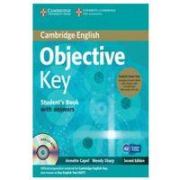 Książki do nauki języka, Objective Key Student's Book with answers + 3CD - Capel Annette, Sharp Wendy (opr. twarda)