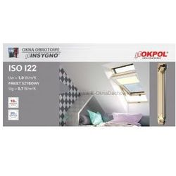 Okno dachowe OKPOL MSO I22 78x140 - PRZECENA!