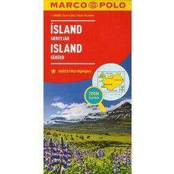 Marco Polo Mapa Samochodowa Islandia 1:650 000 Zoom (opr. kartonowa)