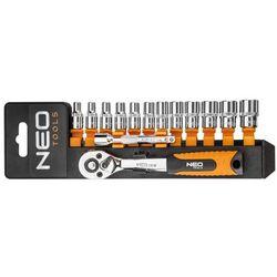 Zestaw kluczy nasadowych NEO 1/4 cala 08-652 (14 elementów) + DARMOWY TRANSPORT!