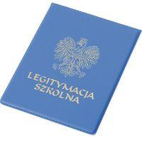 Pozostałe artykuły papiernicze, Okładka na legitymację szkolną PVC + zakładka do książki GRATIS