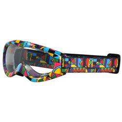 Dziecięce motocyklowe okulary W-TEC Spooner, Kolorowa grafika