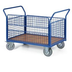 Wózek platformowy osiatkowany, 1200x800 mm, nośność 500 kg
