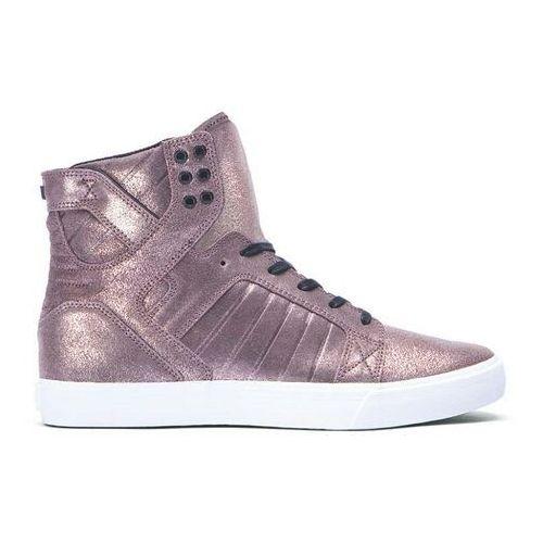 Męskie obuwie sportowe, buty SUPRA - Skytop Rose Gold Metalic-White (RGD)