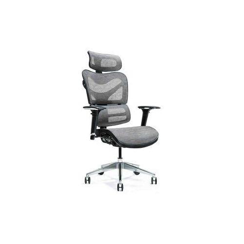Fotele i krzesła biurowe, Ergonomiczny fotel biurowy ERGO 600 szary
