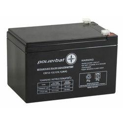 Akumulator żelowy POWERBAT CB 12-12 12V 12Ah