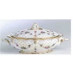 Royal Crown Derby Antoinette Waza z pokrywką 2,0l.