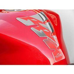 Tankpad PUIG Spirit, wzór uniwersalny Racing (srebrny)