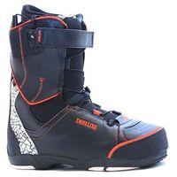 Buty do snowboardu, buty DEELUXE - Luffy (BLACK ORANGE) rozmiar: 38