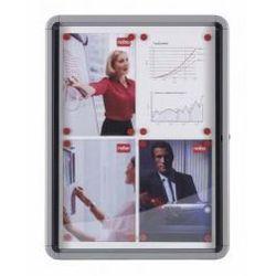 Gablota wewnętrzna 6 x A4 suchościeralna (drzwi wahadłowe)