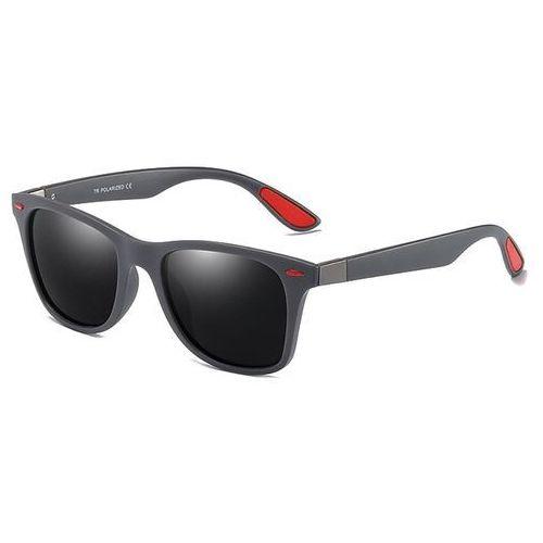 Okulary przeciwsłoneczne, Okulary przeciwsłoneczne męskie polaryzacyjne gray