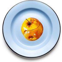 Talerze, Talerz Seletti Wears Toiletpaper emaliowany Apple