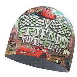 Czapka z Microfibry i Polaru Buff Junior Cars FUN MULTI - FUEL FUN MULTI \ Wielokolorowy -30% (-30%)
