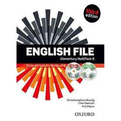 English File Elementary. MultiPack B (Podręcznik B + Ćwiczenia B + iTutor + iChecker) (opr. miękka)