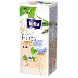 BELLA Panty Herbs Plantago sensitive wkładki higieniczne x 18 sztuk