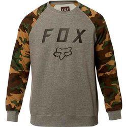 bluza FOX - Legacy Crew Fleece Heather Graphite (185) rozmiar: 2X