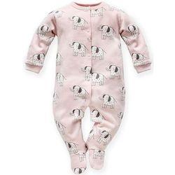 PINOKIO ubranko dziecięce Wild Animals 62 różowy - BEZPŁATNY ODBIÓR: WROCŁAW!