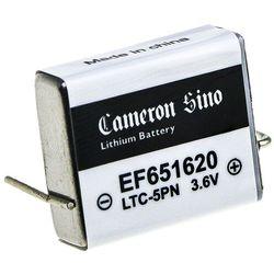 EF651620 550mAh 1.98Wh Li-MnO2 3.6V (Cameron Sino)