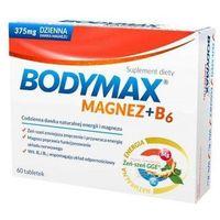 Witaminy i minerały, Bodymax Magnez + B6 x 60 tabletek