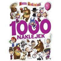 Książki dla dzieci, 1000 naklejek. Masza i Niedźwiedź 2 (opr. miękka)