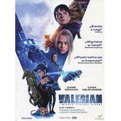 Valerian i miasto tysiąca planet DVD + książka (Płyta DVD)