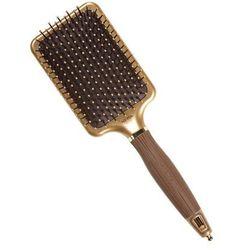 Olivia Garden Nano Thermic Paddle | Płaska szczotka do wygładzania włosów