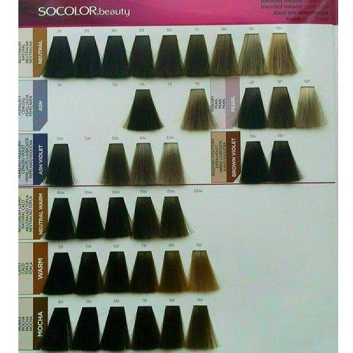 Farbowanie włosów, MATRIX SOCOLOR Beauty Farba do włosów 7M Średni blond Mokka 90 ml