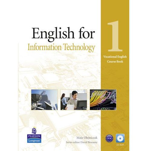 Książki do nauki języka, Vocational English: English for IT, Level 1, Coursebook (podręcznik) plus CD-ROM (opr. miękka)