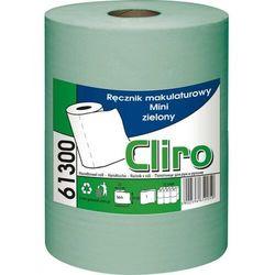 Ręcznik papierowy w roli mini 12 szt. 1 warstwa 65 m zielony makulatura