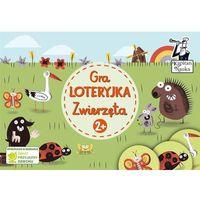 Książki dla dzieci, Gra Loteryjka Zwierzęta 2+ (opr. kartonowa)