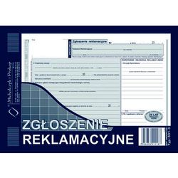 Zgloszenie reklamacyjne Michalczyk&Prokop 601-3 - A5 (oryginał +2 kopie)