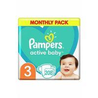 Pieluchy jednorazowe, Pieluchy Pampers Activ Baby rozm3 5O41FD Oferta ważna tylko do 2031-09-23