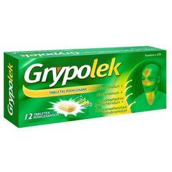GRYPOLEK x 12 tabletek