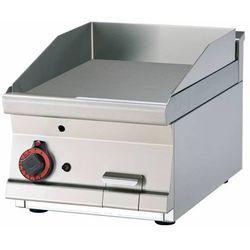Płyta grillowa gazowa gładka | 395x450mm | 6000W | 400x600x(H)280mm