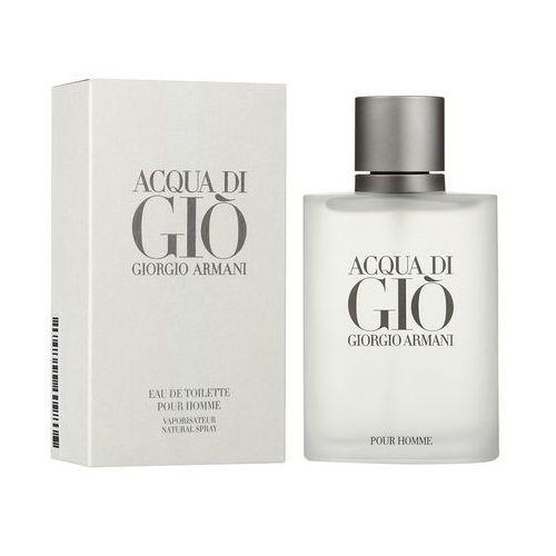 Pozostałe zapachy, ARMANI ACQUA DI GIO WODA TOALETOWA 100ML