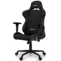 Fotele dla graczy, Fotel AROZZI Torretta XL Czarny + DARMOWY TRANSPORT!