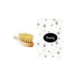 Szczotka z naturalnego w�osia + myjka Lullalove (Kucharz)