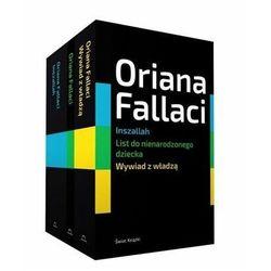 Pakiet: Wywiad z władzą / Inszallah / Listy do nienarodzonego dziecka - Oriana Fallaci - książka