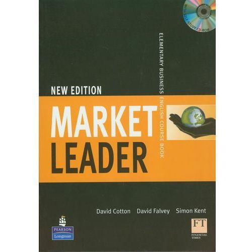 Książki do nauki języka, Market Leader New Elementary Business English Course Book z płytą CD - Cotton David, Falvey David, Kent Simon (opr. miękka)
