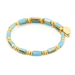 Biżuteria Chrysalis Bransoletka Gaia Water Turquoise CRBW0004GPtubl