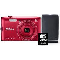 Aparaty kompaktowe, Nikon Coolpix A300