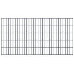 Panel ogrodzeniowy 2008x1030 mm, szary