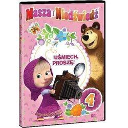 Masza i Niedźwiedź. Część 4: Uśmiech, proszę! (DVD) - Oleg Kuzovkov
