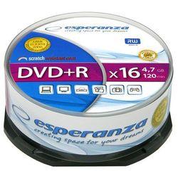 Płyta DVD-R Esperanza cake 25 4,7x16 [10 szt.]