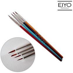 Zestaw 4 pędzelków do zdobień - Nail Art Brush