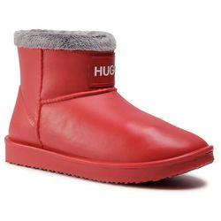 Kalosze HUGO - Cozy 50441821 10230866 01 Bright Red 621
